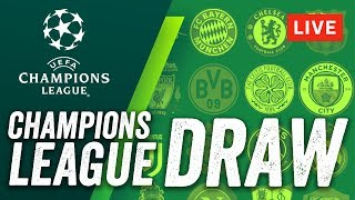 Champions league 2017-18 live draw! who will neymar, dembele, messi & ronaldo face?