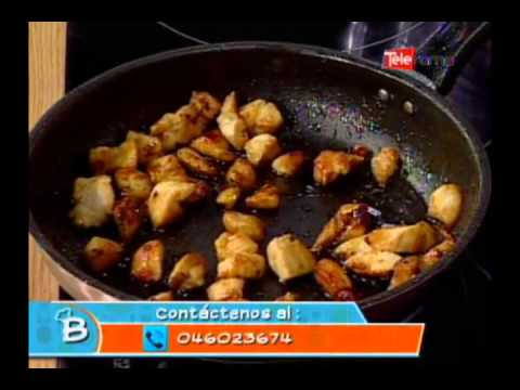 Pollo en salsa ocopa