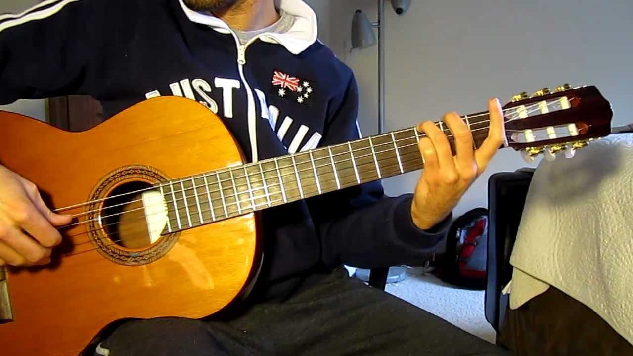 Spanish Guitar Jam Classical Guitar By Easy Guitar Chords Youtube