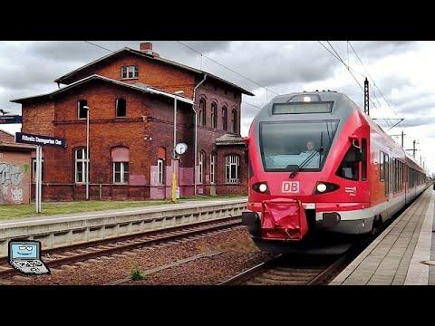 Ribnitz-Damgarten West UND Ost mit InterCitys und DB FLIRT (Regionalexpress) samt Lichthupe