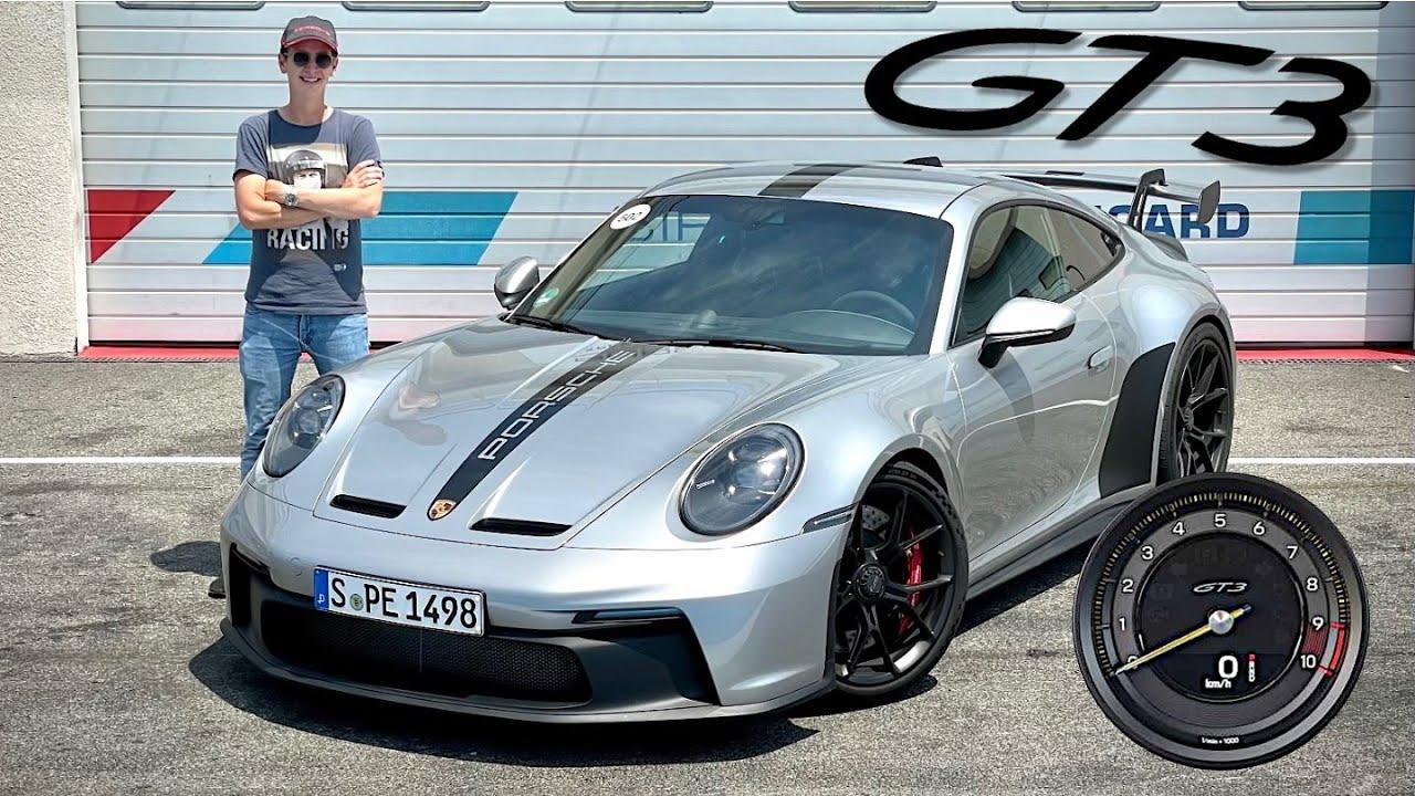 J'essaye la nouvelle Porsche 992 GT3 à 9000 RPM 😍