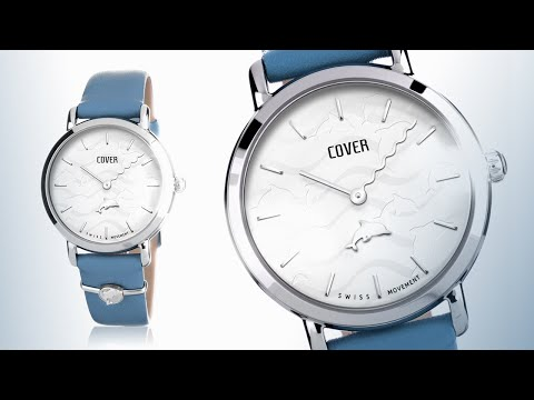 Crazy Seconds By COVER - Watches For Women - Ladies Watches - Ocean Spirit - CO1008.01