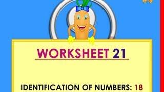 Kindergarten Worksheets  - 18