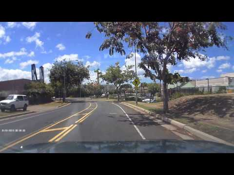 GS 1000 1080p Dash Cam  Camera road test in Waipahu Hawaii with Nautica.