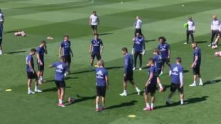 Тренировки футбольного клуба Реал Мадрид / FC Real Madrid trainings