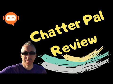 ChatterPal Review and REAL demo - Unique Chatter Pal Bonus. http://bit.ly/30Hw13Y