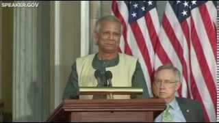 Gold Medal Ceremony Honoring Professor Muhammad Yunus thumbnail