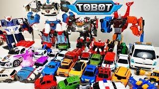 ВСІ мої ТОБОТЫ - Великий Челлендж трансформуємо всіх Тоботов. Тоботы Трансформери іграшки для дітей