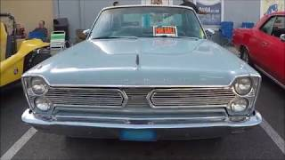 1966 Plymouth Sport Fury Hardtop BluWht OldTown111617