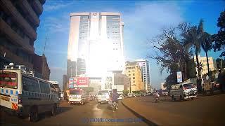 Beautiful Saturday Kampala Drive from Airtel Jinja road roundabout to HAM Towers on October 13, 2018