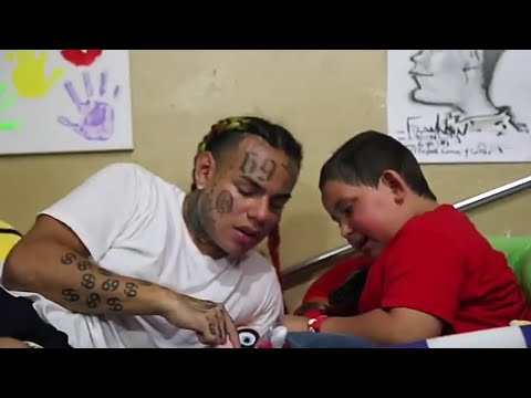 6ix9ine Does  Make A Wish  For A Kid With Brain Cancer | Tekashi69 Make A Wish | Emotional |