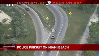 2 homicide suspects from New York arrested after police chase in Miami-Dade County