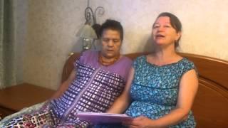 Раиса и Ольга поют 1