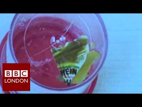 Stomach condition caused by plastic sauce sachet - BBC London News