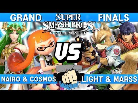 Collision 2019 Grand Finals - Nairo Cosmos (Palutena/Inkling) v Light Marss (Fox/Ike) Smash Ultimate thumbnail