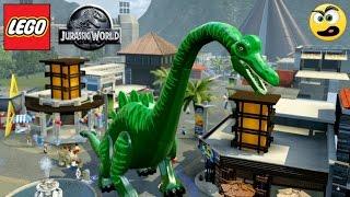 Lego Jurassic World - Como Trazer o Braquiossauro para Cidade (MONSTRO DO LAGO NESS)