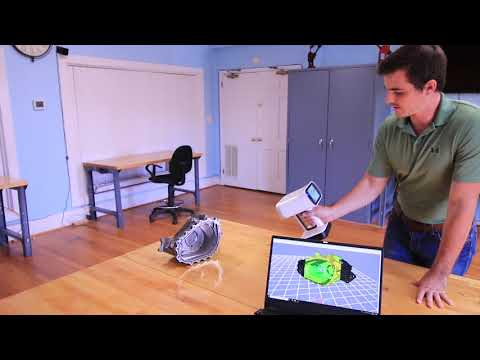 Scanning Mechanical Parts With The Artec Leo 3D Scanner