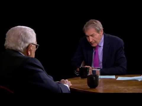 Henry Kissinger , resolving the North Korea crisis, the U.S. relationship with China, Trump