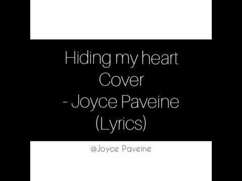 Adele - Hiding My Heart Cover. (Lyrics) Joyce Paveine