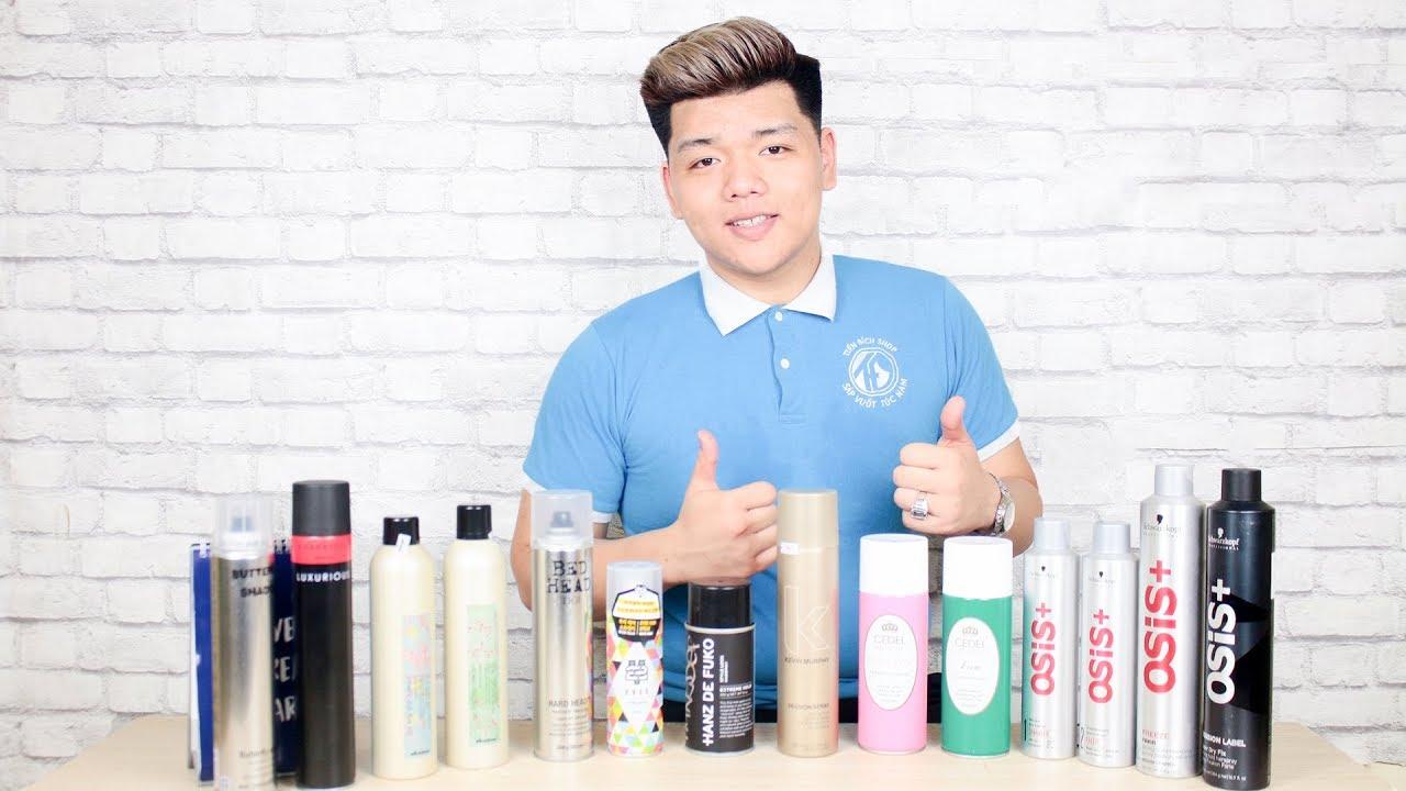 TOP Các loại gôm xịt tóc tốt nhất hiện nay – Keo xịt tóc nam dành cho mọi loại tóc | Tiến Đích Shop