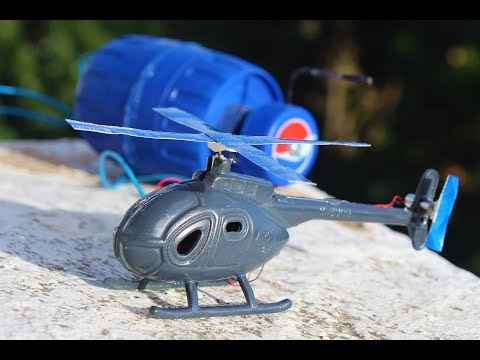 How To Make A Helicopter - Generator Helicopter