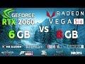 RTX 2060 vs VEGA 56 Test in 9 Games