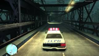GTA IV  The Early Struggle To Cross The Bridge