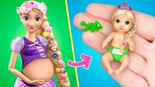 15 Tane Kendin Yap Tarzı Oyuncak Bebek İpuçları ve el Sanatları/Minyatür Bebek, Bez ve Daha Fazlası!