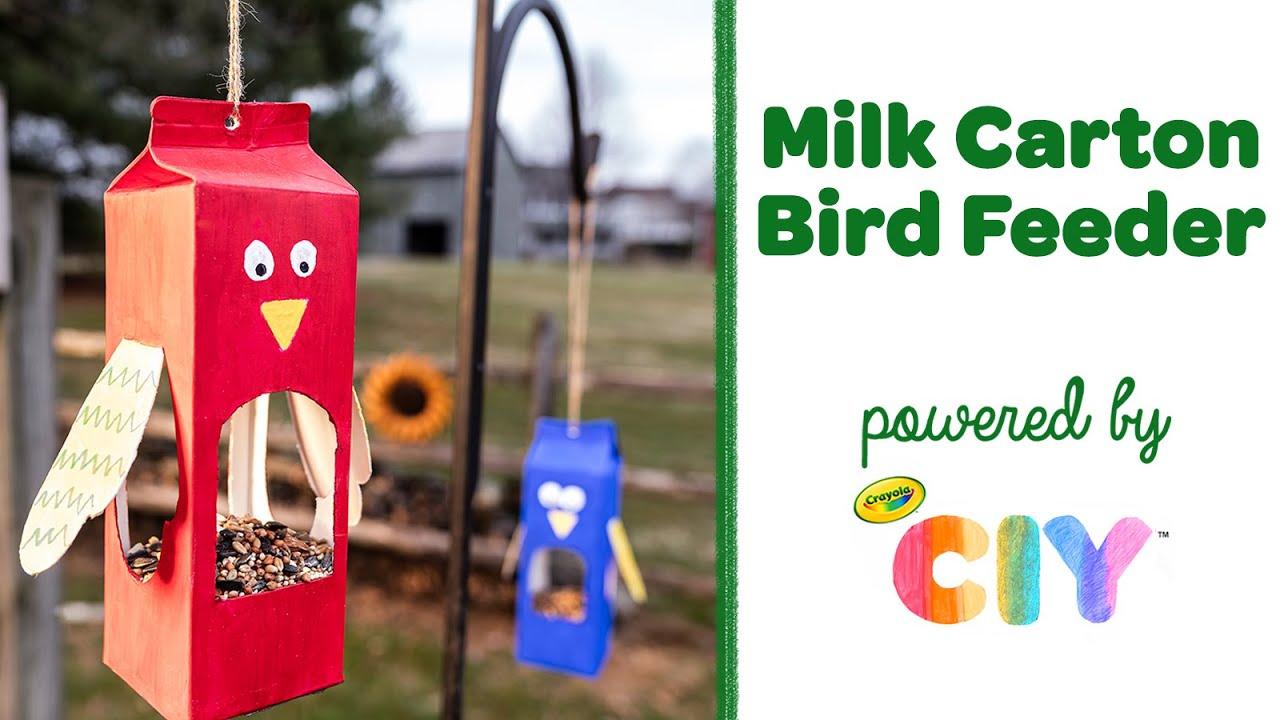 Crayola Upcycle Bird Feeder Craft