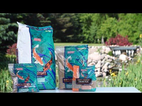 Koi's Choice Premium Fish Food Video
