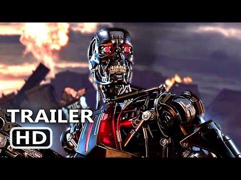 "TERMINATOR DARK FATE ""Gears Of War 5"" Trailer (2019) Action Game HD"