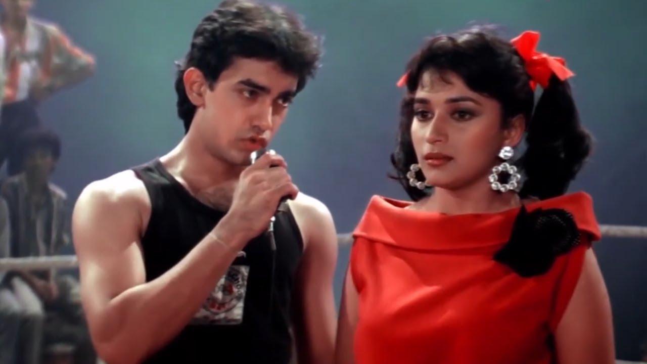 Madhuri Dixit ने दिया Aamir Khan को एक शर्त | Dil (1990) (HD)  Part 2 | Anupam Kher | Romantic Drama