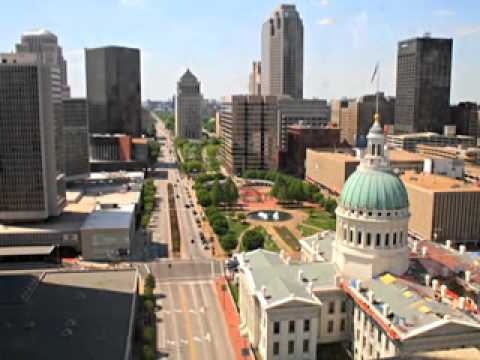 St. Louis in the Civil War - The Old Courthouse and The Arch