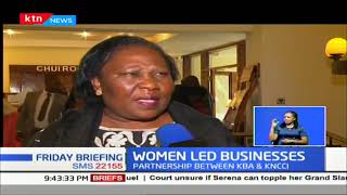 Kenyan women own over 60.7%  of all unlicensed businesses in the country