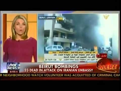 Beirut Bombings   23 Dead In Attack On Iranian Embassy   Beirut Lebanon