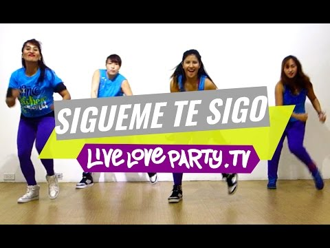 Sigueme Y Te Sigo | Zumba Fitness | Live Love Party