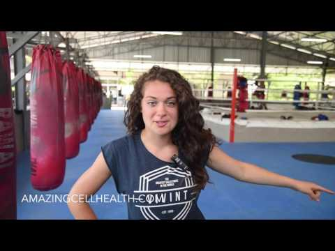 Amy & Thai Boxing in Khao Lak, Thailand!