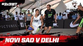 Novi Sad v Delhi | Full Game | FIBA 3x3 World Tour 2018 - Hyderabad Masters