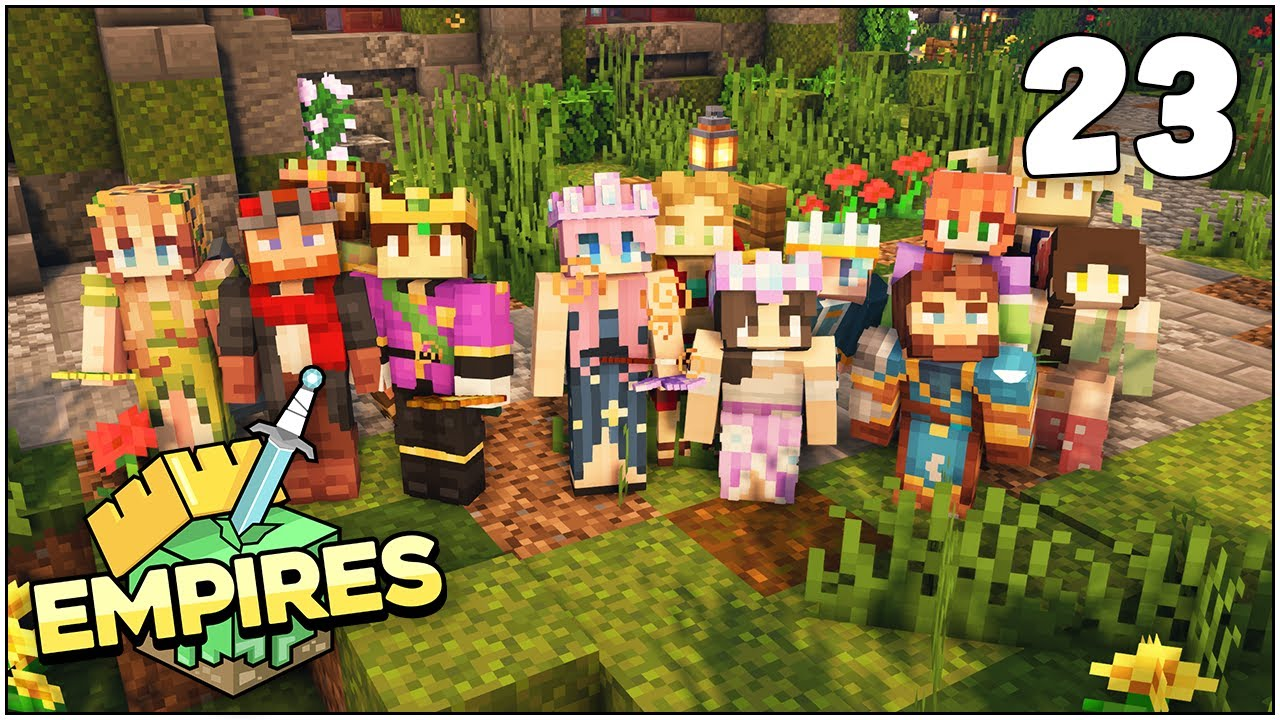 Empires SMP - THE GREATEST MINECRAFT WEDDING!!! - Ep.23 [Minecraft 1.17 Let's Play]