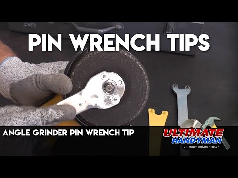 Angle Grinder Pin Wrench Tip