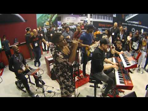 "NAMM 2018 - The Kennedy Administration plays ""Let's Party"" at Nord"