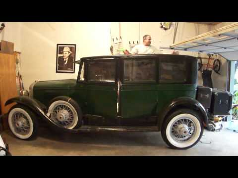Bullet Proof Car >> Al Capone's Real Armored Car Fully Armored - YouTube