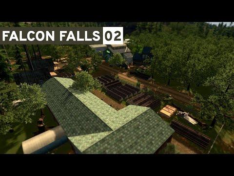 Cities Skylines - Falcon Falls | Part 2 - Moore Logging