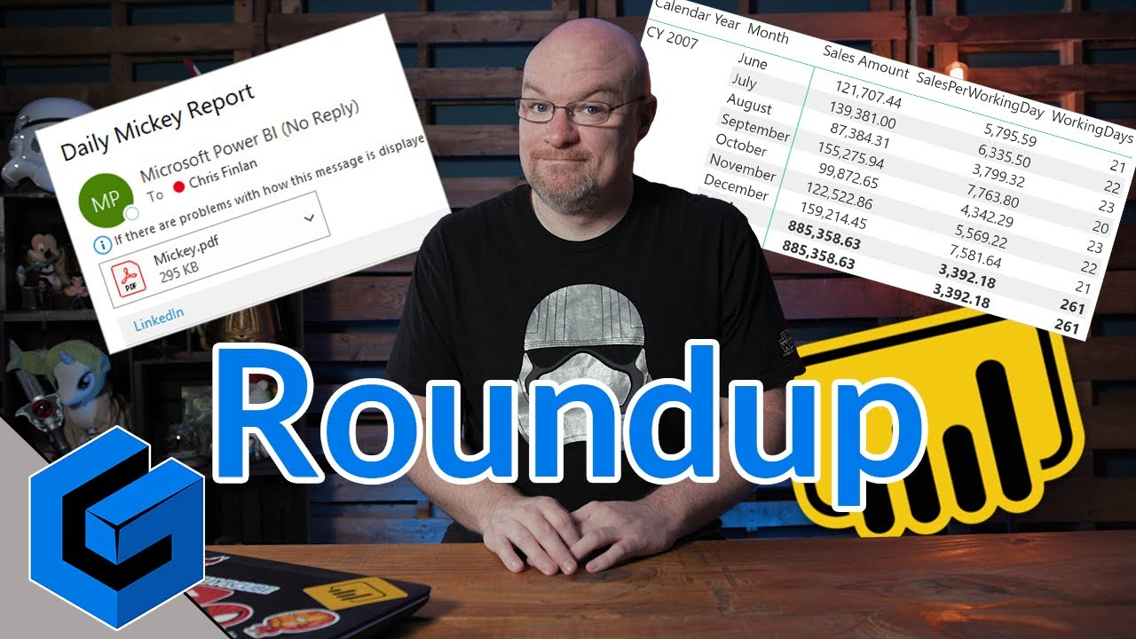 Power BI Paginated, DAX, Power Query and more    (April 22, 2019)
