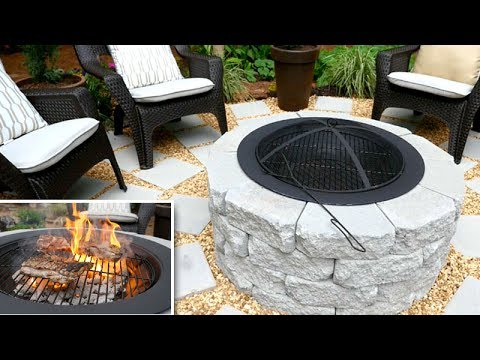 DIY | Fire Pit / Grill + Patio