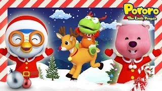 Jingle Bells | 🎄Christmas songs for kids | Nursery Rhymes | Pororo the Little Penguin