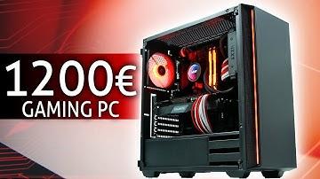 1200 Euro GAMING PC 2020 | Der SCHNELLSTE den DU derzeit bauen kannst! | TEST & Zusammenbauen