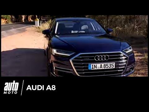 2018 Audi A8 [ESSAI] : des pieds et des mains