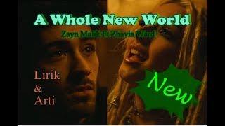 A Whole New World  Zayn Malik Feat Zhavia Ward Lyrics Lirik & Arti Terbaru