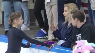 Алёна Косторная КП Контрольные прокаты 2019 2020 Alena Kostornaya SP Open Skates